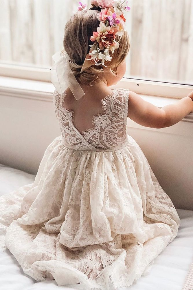 Must Have 2019 24 Lace Flower Girl Dresses Wedding Dresses Guide In 2020 Flower Girl Dresses Tulle Flower Girl Dress Lace Wedding Flower Girl Dresses