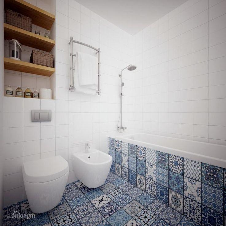 Шведский дизайн ванной.