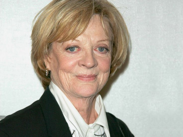 """Dame Margaret Natalie """"Maggie"""" Smith, DBE  English film, stage and television actress. Stage debut in 1952 with an extensive, varied career in stage, film and television spanning over sixty years.   Born: 28 December 1934 in Ilford Married: Beverley Cross (1975–1998) Robert Stephens (1967–1974) Sons: Toby Stephens and Chris Larkin"""