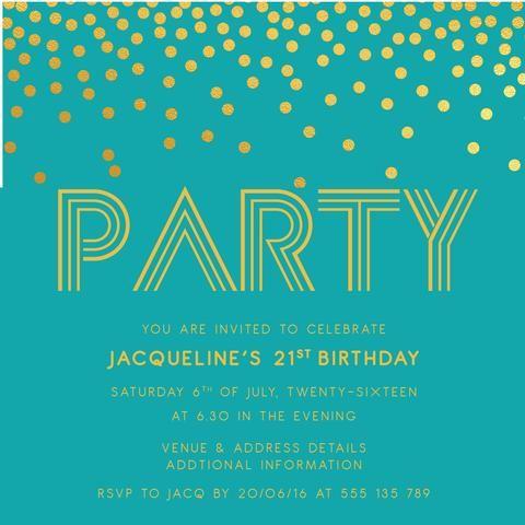 63 best Invitations for Women Birthday Invitations images on – Digital Birthday Invitations