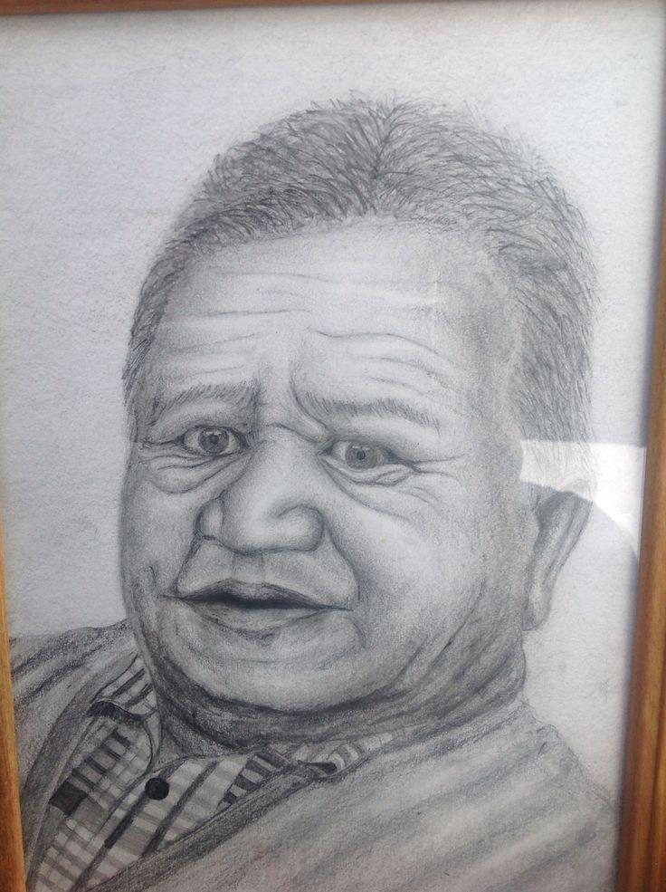 Pencil sketch of (Ruma Tito)