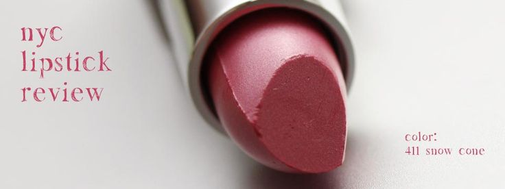 NYC Lipstick Review - The Best Inexpensive Lipstick $2.04