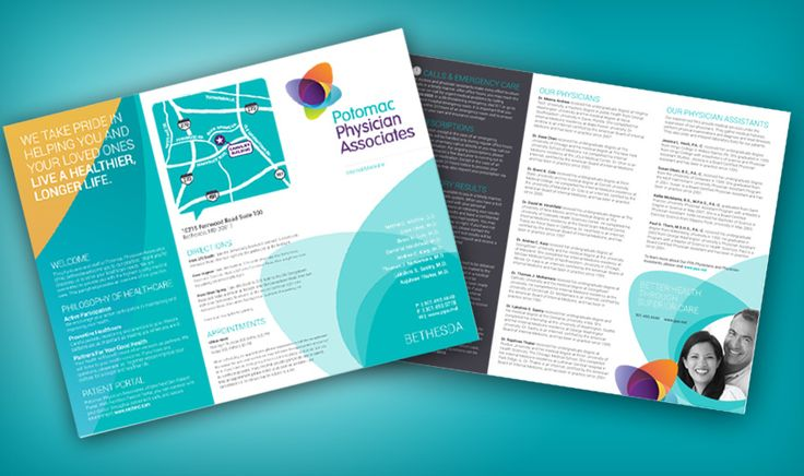 Our brochure designs are driven to meet the individual needs of clients.