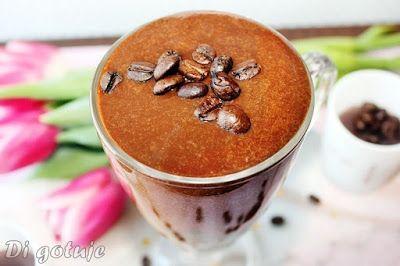 Di gotuje: Odżywczy i pobudzający shake/koktajl kawowo-banano...