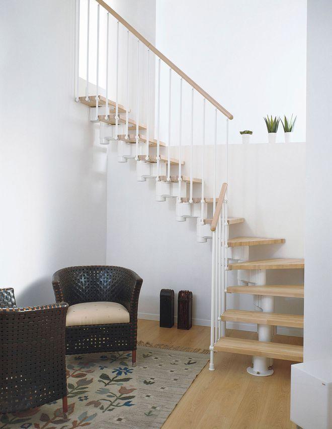 Meer dan 1000 idee n over escalier modulaire op pinterest escalier gain de place modulaire en - Aangepaste trap leroy merlin ...