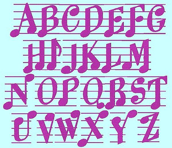 Details About MUSIC MAN FONT PACK - 155