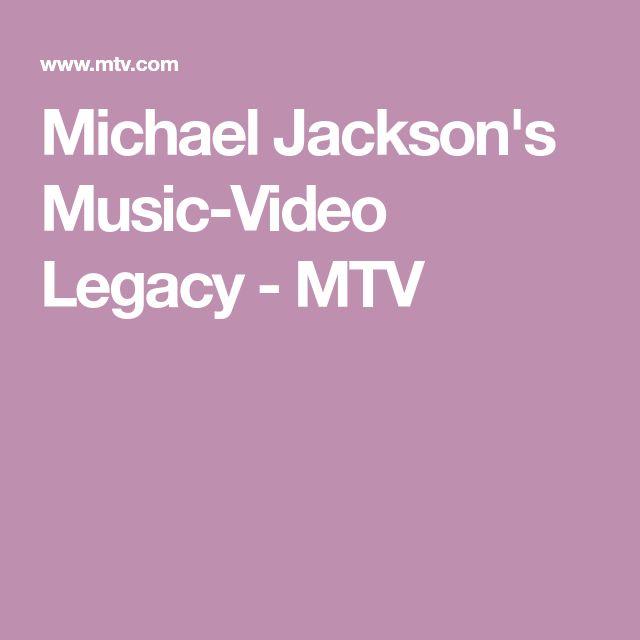 Michael Jackson's Music-Video Legacy - MTV