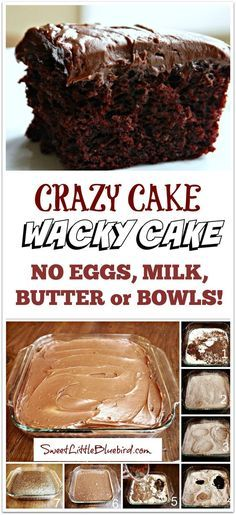 Fun for teaching the Great Depression with this Depression Cake- No Eggs, Milk, Butter,Bowls or Mixers!!  Super moist & delicious!!  Great activity to do with kids!!  Go to recipe for egg/dairy allergies.  Recipe dates back to the Great Depression.  It's darn good cake!!    SweetLittleBluebird.com