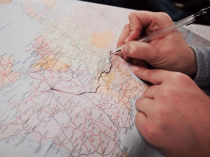Interrail route planning, Europe