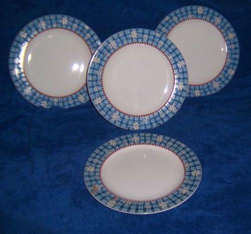Sakura Snowflake Debbie Mumm Dinner Plates Christmas | eBay & 29 best My Debbie Mumm Dishes images on Pinterest | Dinnerware Dish ...