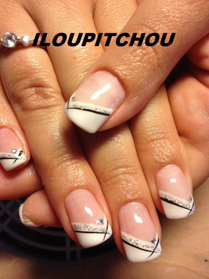 25+ Best Ideas About Gel Nails French On Pinterest