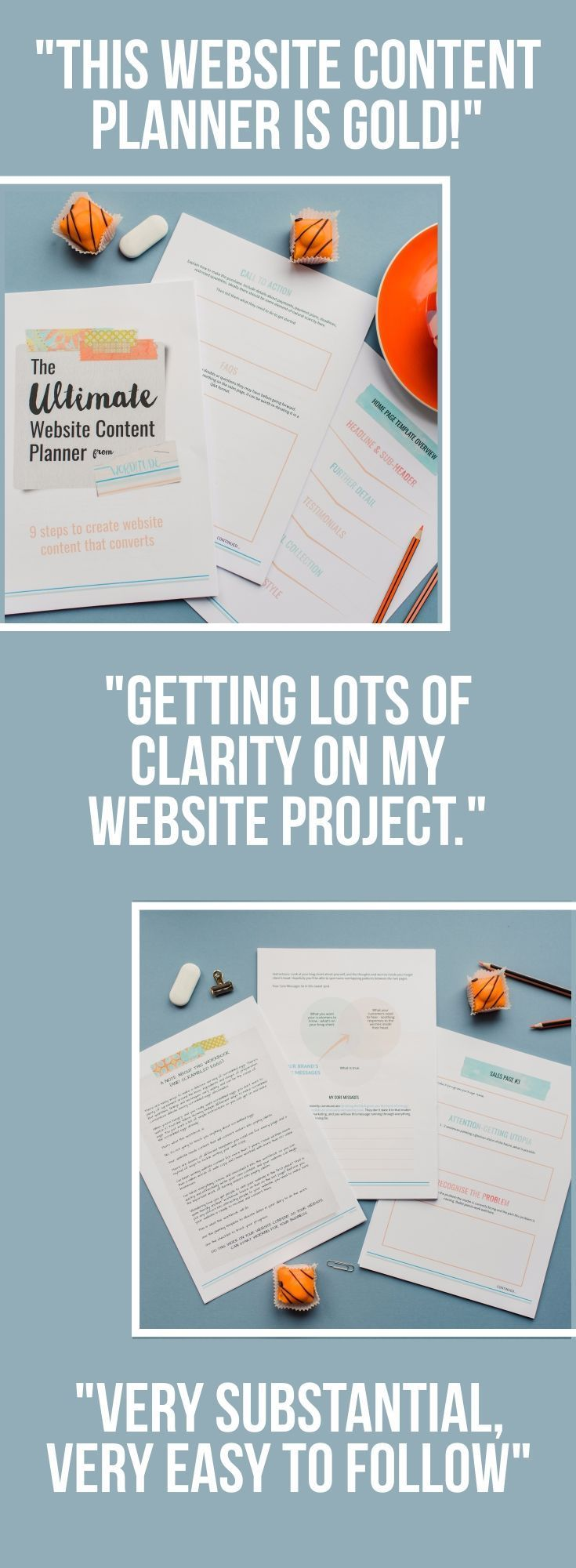 Creating or revamping your website? Get help writing your website content with this step-by-step planner for entrepreneurs, solorpreneurs and small businesses. Get help with your online marketing, email marketing and more. Repin, then visit the planner to see photos and feedback.
