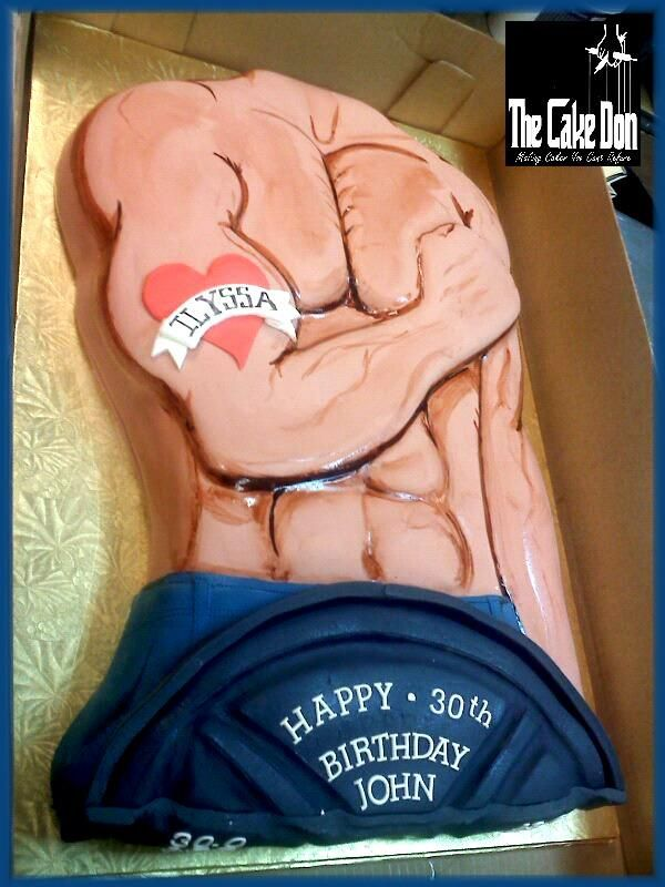 The GYM,TAN,LAUNDRY Birthday cake  by THE CAKE DON
