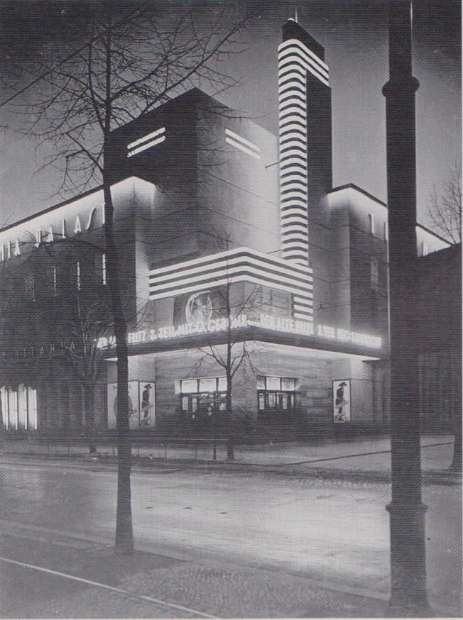"Cinema ""Titania-Palast"" (1926-27) in Berlin, Germany, by Schöff­ler, Schlön­bach & Ja­cobi"