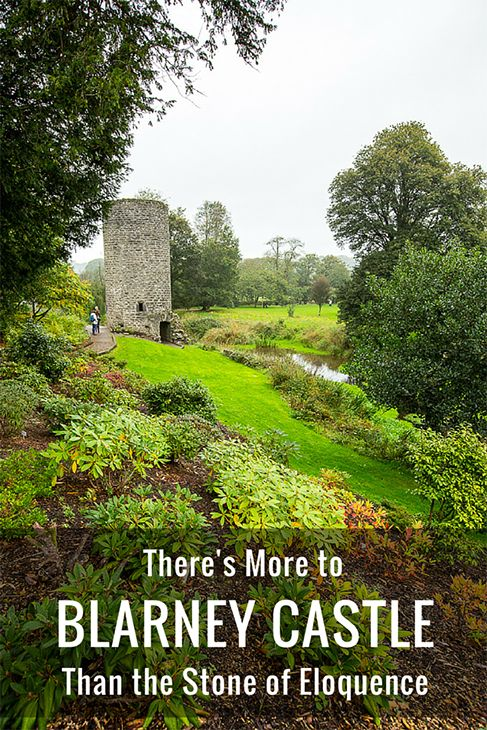 I may not have received the gift of eloquence by kissing the Blarney Stone but, if you wander about, you'll find there's a lot more to see at Blarney Castle. (Click to find out more.)