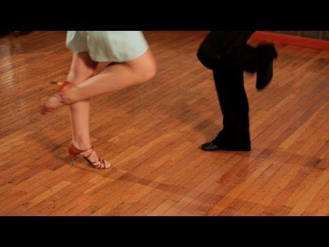 ▶ How to Do Basic Jive Steps | Ballroom Dance - YouTube