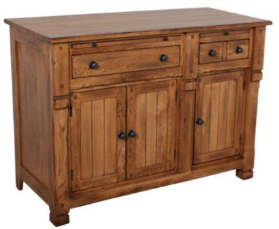 Homemakers Furniture: Oak Buffet: Sunny Designs: Dining: Buffets & Hutches.