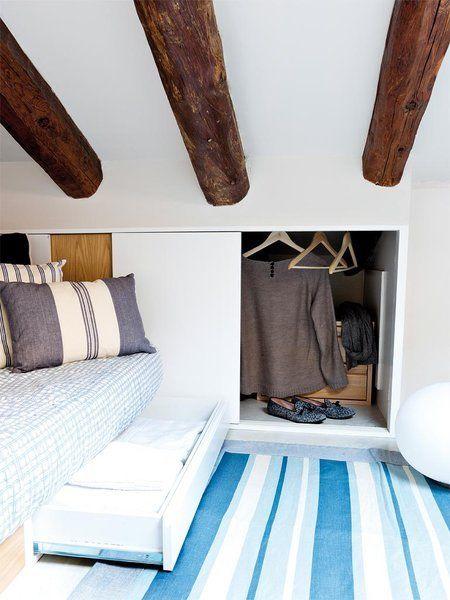 17 best images about espacios abuhardillados on pinterest - Ideas para organizar armarios ...