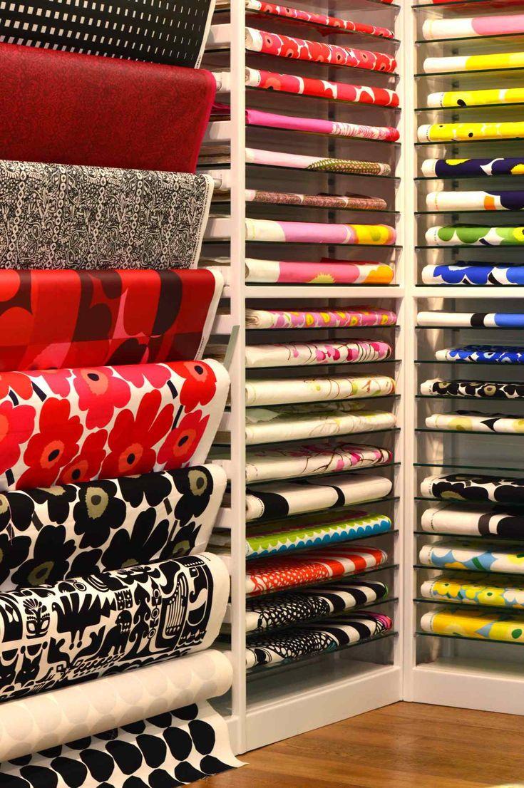 Marimekko fabric - Seed & Conjure