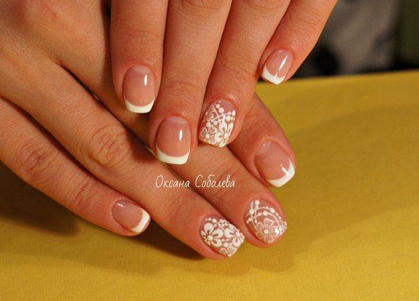 260 Best White Nails Images On Pinterest
