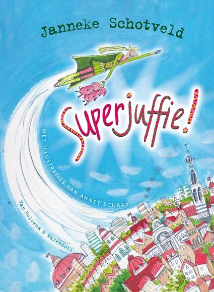 Superjuffie! van Janneke Schotveld en Annet Schaap is een hilarisch boek. Het won de Pluim van de Kinderjury!  Lees de bespreking en doetips op: http://mevrouwkinderboek.nl/2011/09/30/superjuffie-een-heldin-op-hakken