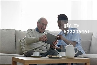 Elderly Care Pictures & Stock Photos | Getty Images
