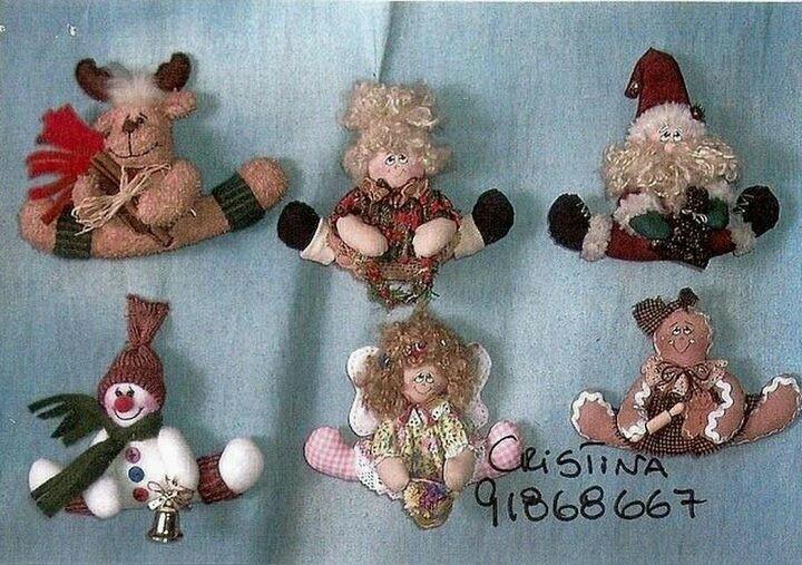 Mini muñecos de Navidad 1