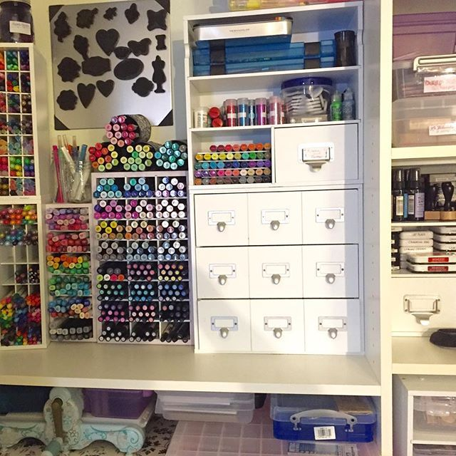 20 Easy Diy Ideas And Tips For A Perfectly Organized Car: 25+ Best Ideas About Marker Storage On Pinterest