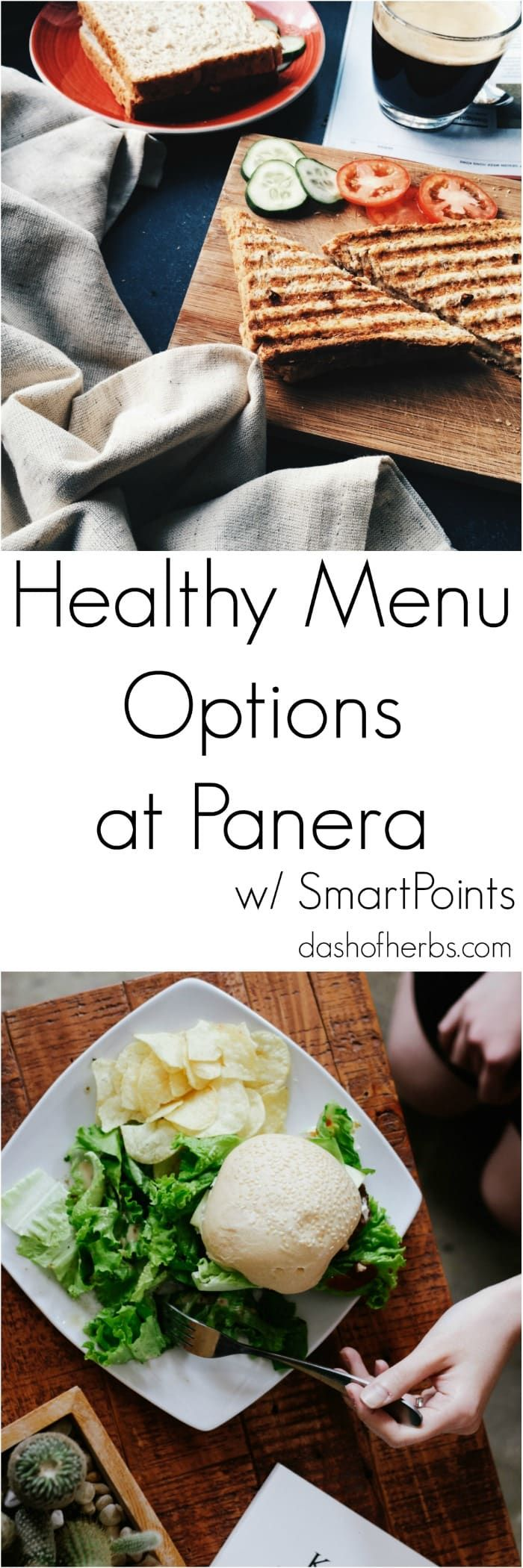 If you hate standing in line at Panera Bread wondering what to order that will be within your Weight Watchers SmartPoints, look no further.  This guide gives you the healthy menu options at Panera Bread with the SmartPoints included for each item so that you can easily decide what you want to eat.