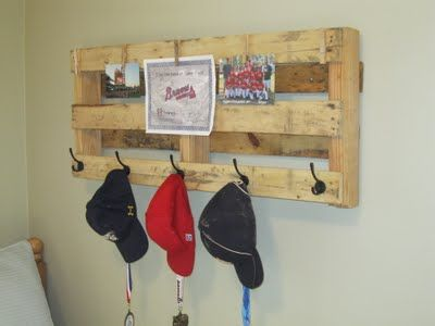 OK! gotta have one of these! what an awesome idea!! I can see winter hats and gloves on this for the kids.hang it lower for the back packs too!