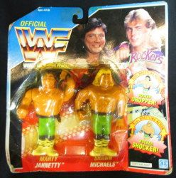 HASBRO WWF Rockers MARTY JANNETTY & SHAWN MICHAELS