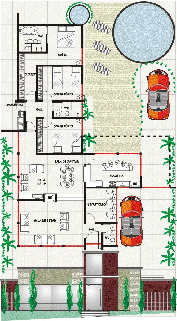 1157 best Plan petite maison images on Pinterest Arbors