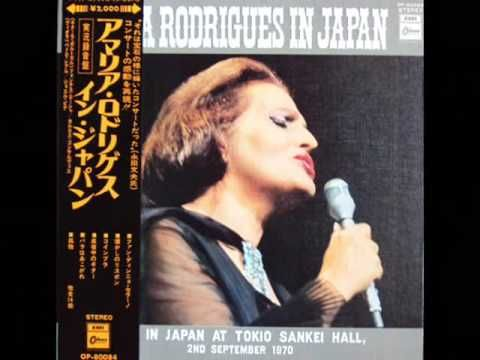 Another older but goodie FADO singer,  Amália Rodrigues.  One either LOVES or hates FADO. I absolutely love it!