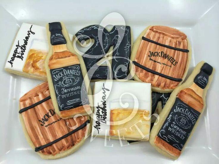 LC Sweets: Jack Daniels cookie set