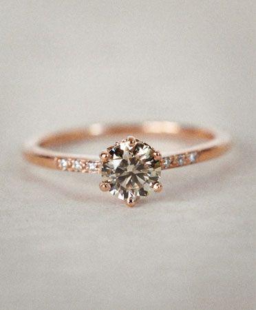Anna Sheffield Champagne Diamond Hazeline