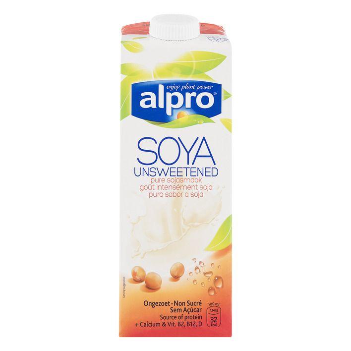 Alpro 'melk' Sojadrink ongezoet #vegan