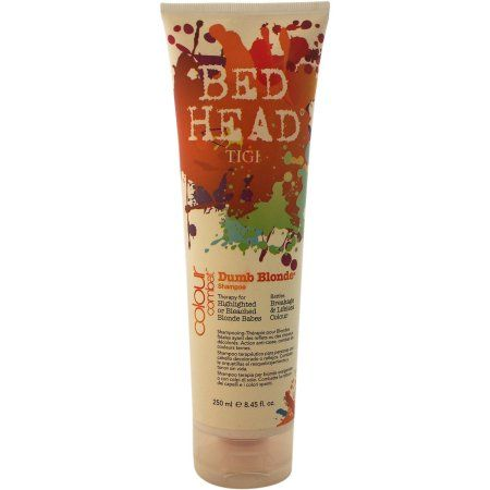 Tigi Bed Head Colour Combat Dumb Blonde Shampoo, 8.45 fl oz