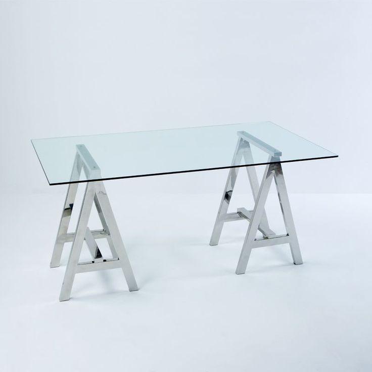 M s de 25 ideas incre bles sobre mesa escritorio cristal - Mesa escritorio cristal ...