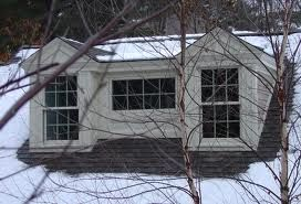 cute dormer. I wonder what this may look like on both sides.