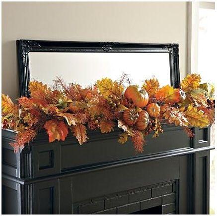 Thanksgiving - Autumn Mantle Swag