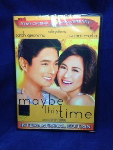 Maybe This Time (2014) Sarah Geronimo & Coco Martin Filipino DVD
