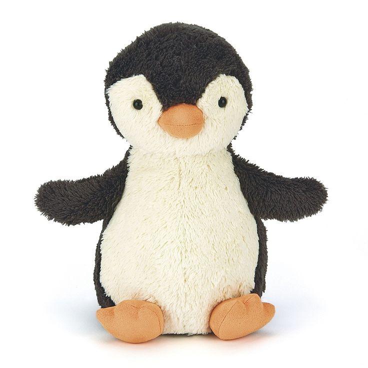 Jellycat PNS3PN Peanut Penguin Small