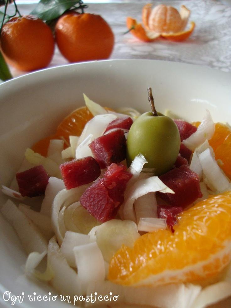 Mandarino: un insalata un pò insolita... - Mandarin: a somewhat unusual salad ...