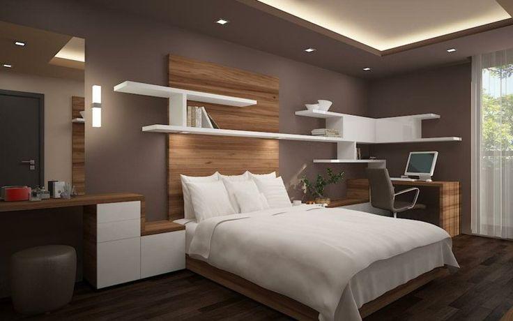 faux plafond : aménagement et éclairage de chambre