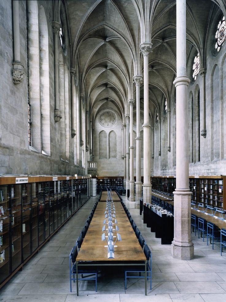 Candida Hofer - Bibliothèque du CNAM Paris II (Ben Brown Fine Arts)