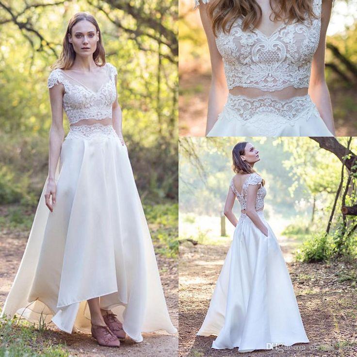 28 Two Piece Wedding Dresses: 432 Best A-line Wedding Dress Images On Pinterest