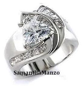 202 best Diamond wedding rings images on Pinterest Engagements