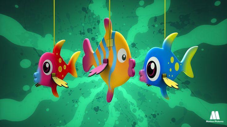 Peces de colores, Telmo y Tula manualidades para niños, artesanias infantiles, actividades manuales. Videos de dibujos con ideas creativas