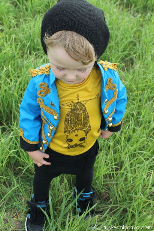 Project Run and Play: Signature Styles!  Love the jacket and t-shirt