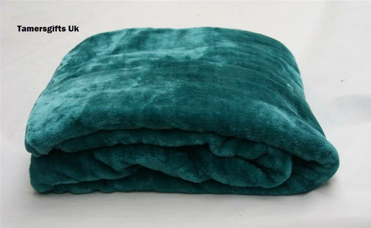 Details About Teal Single Bed Sofa Acrylic Mink Blanket